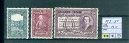 987-989    Xx COB 13.50€ - Unused Stamps