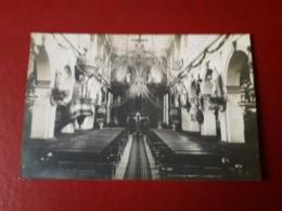 CPA BOLBEC  OU ENVIRONS CARTE PHOTO INTERIEUR DE L EGLISE - Bolbec