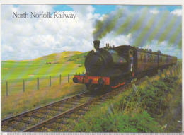 England Uncirculated Postcard - Trains - The North Norfolk Railway , Near Sheringham - Trains