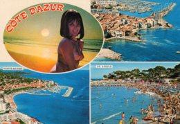 B60969 Cpsm La Côte D'Azur Varoise - France