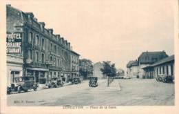 54 LONGUYON PLACE DE LA GARE PAS CIRCULEE - Longuyon