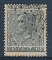"BELGIE - OBP Nr 17A - Gest./obl. P418  ""LEMBECQ"" (ref. ST 1239) - 1865-1866 Profile Left"