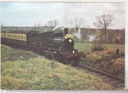 England Uncirculated Postcard - Trains - Kent And East Sussex Railway -The Norwegian Mogul No 19 Climbing Tenterden Bank - Trains
