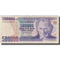 Billet, Turquie, 500,000 Lira, 1970, KM:208, TB - Turkije
