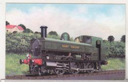 England Uncirculated Postcard - 0-6-0 Pannier Tank No 1369 At Buckfastleigh - Trains