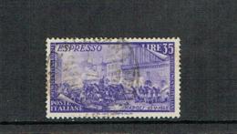 ITALY 1948 Risorgimento Used Stamp, Espresso Sassone E32 - 6. 1946-.. República