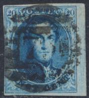 """Médaillon - N°11 Margé + BDF Obl P79 (8 Barres) """"Marche"""" - 1858-1862 Medallions (9/12)"""