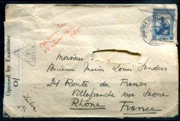 ANGOLA - 23.05.1942 - Lettre Expédiée De DUNDO Pour La France Via Lisbonne Avec Censure Britannique - Angola