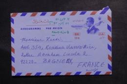 IRAN - Aérogramme ( Surchargé ) Pour La France - L 46982 - Iran