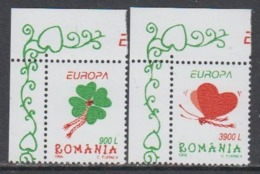 Europa Cept 1998 Romania 2v  (corner) ** Mnh (45211) - Europa-CEPT