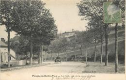 POUGUES BELLE VUE - Le Café, Pris De La Route De Paris. - Pougues Les Eaux