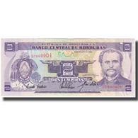 Billet, Honduras, 2 Lempiras, 1993-02-25, KM:72b, SUP - Honduras