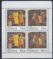 Europa Cept 1995 Sweden Booklet Pane ** Mnh (45211C) - 1995