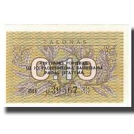 Billet, Lithuania, 0.10 Talonas, KM:29b, NEUF - Lituanie