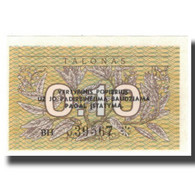 Billet, Lithuania, 0.10 Talonas, KM:29b, NEUF - Litouwen