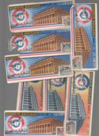 (loterie Nationale) Bordeaux (33 Gironde) Lot De 8 Billets 1/10e BANQUE ANGLADE  (PPP21087) - Loterijbiljetten