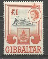 GIBRALTAR YVERT NUM. 158 ** NUEVO SIN FIJASELLOS - Gibraltar