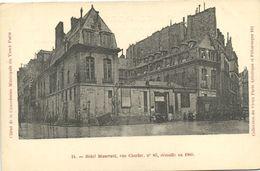 CPA Paris 3e (Dep. 75) Hotel Maserani (56908) - District 03