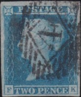Great Britain       .   Yvert    .   4  (1841)       .       O      .       Cancelled .   /   .   Gebruikt - Gebruikt