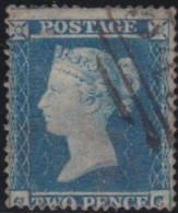 Great Britain   .   Yvert    .   9  (1854-55) Perf. 16 (2 Scans)     .     O      .    Cancelled .   /   .   Gebruikt - 1840-1901 (Viktoria)