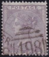 Great Britain   .   Yvert    .   19  (1855-57)  Fleurs Heraldiques   .     O    .    Cancelled .   /   .   Gebruikt - 1840-1901 (Viktoria)