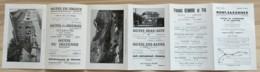 ANCIEN  DEPLIANT TOURISTIQUE MONT SAXONNEX HAUTE SAVOIE    E32 - Tourism Brochures