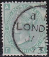 Great Britain   .   Yvert  .   37  (1867-69)  . Tige De Rise   .       O    .    Cancelled .   /   .   Gebruikt - 1840-1901 (Victoria)