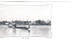 BANGKOK  Royal Barge - Thailand