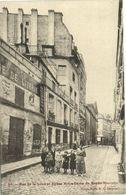 CPA Paris 2e (Dep. 75) Rue De La Lune Et Eglise Notre Dame (57667) - Churches