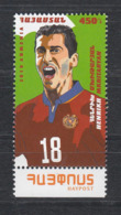 Armenia Armenien 2019 Mi.  1118 Football Player Henirk Mkhitaryan - Armenien