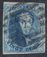 """Médaillon - N°11 Margé Obl P136 (8 Barres) """"Mariembourg"""" - 1858-1862 Medallions (9/12)"""