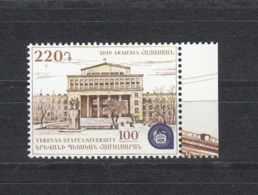 Armenia Armenien 2019 Mi.  1119 Yerevan State University - Armenien