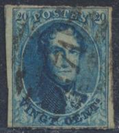 "Médaillon - N°11 (3 Marges + Voisin) Obl P171 (8 Barres) ""Lens"" - 1858-1862 Medallions (9/12)"