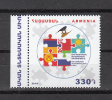 Armenia Armenien 2019 Mi.  1120 Eurasien Economic Union - Armenien