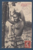 Sénégal - Afrique Occidentale - Carte Postale - Fille Soussou - Femme Sein Nu - Sénégal