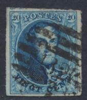 "Médaillon - N°11 Margé Obl P182 ""Lede"". TB - 1858-1862 Medallions (9/12)"