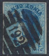 """Médaillon - N°11 Margé Obl P192 """"Warneton"""" - 1858-1862 Medallions (9/12)"""