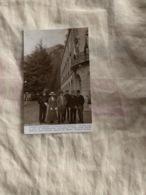 Vernet-Les-Bains De Gauche à Droite : Lady Edvina Roberts,Lord Roberts,Général Du Moriez,Rudyard Kipling - France