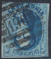 """Médaillon - N°11 (3 Marges) Obl P196 """"Paliseul"""" - 1858-1862 Medallions (9/12)"""