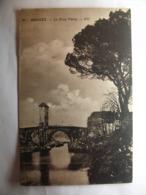 Carte Postale Orthez (64) Le Pont Vieux (Petit Format Noir Et Blanc Non Circulée ) - Orthez