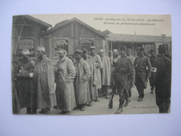 CPA Saint Brieuc. Guerre 1914-1918. Arrivée De Prisonniers Allemands - Saint-Brieuc