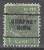 USA Precancel Vorausentwertung Preo, Locals Minnesota, Comfrey 703 - Vereinigte Staaten