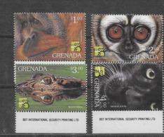 Serie De Grenada Nº Yvert 3410/13 ** FAUNA (ANIMALS) - Grenada (1974-...)