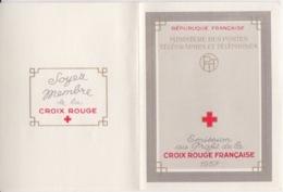 Carnet Croix Rouge 1957 (J. Callot N° 1140 L'aveugle, 1141 La Mendiante), Neuf Sans Traces - Cruz Roja