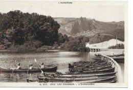 63  Lac Chambon Animée   L'embarcaderes - Autres Communes