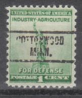 USA Precancel Vorausentwertung Preo, Locals Minnesota, Cottonwood 734 - Vereinigte Staaten