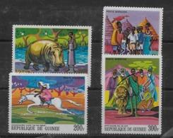Serie De Guinea Nº Yvert A-82/85 ** FAUNA (ANIMALES) - República De Guinea (1958-...)
