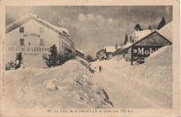01 COL De La FAUCILLE En Hiver - Francia