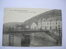 CPA Légué Saint Brieuc. Le Pont Tournant. Coté Plérin. - Frankrijk