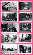 10 Photo - La Coubre - Juin 1939 - Les Pins - Sur Le Bac - Coin Du Bac - Apéritifs - Famille - Bateau - Peau Sur Le Mur - Orte